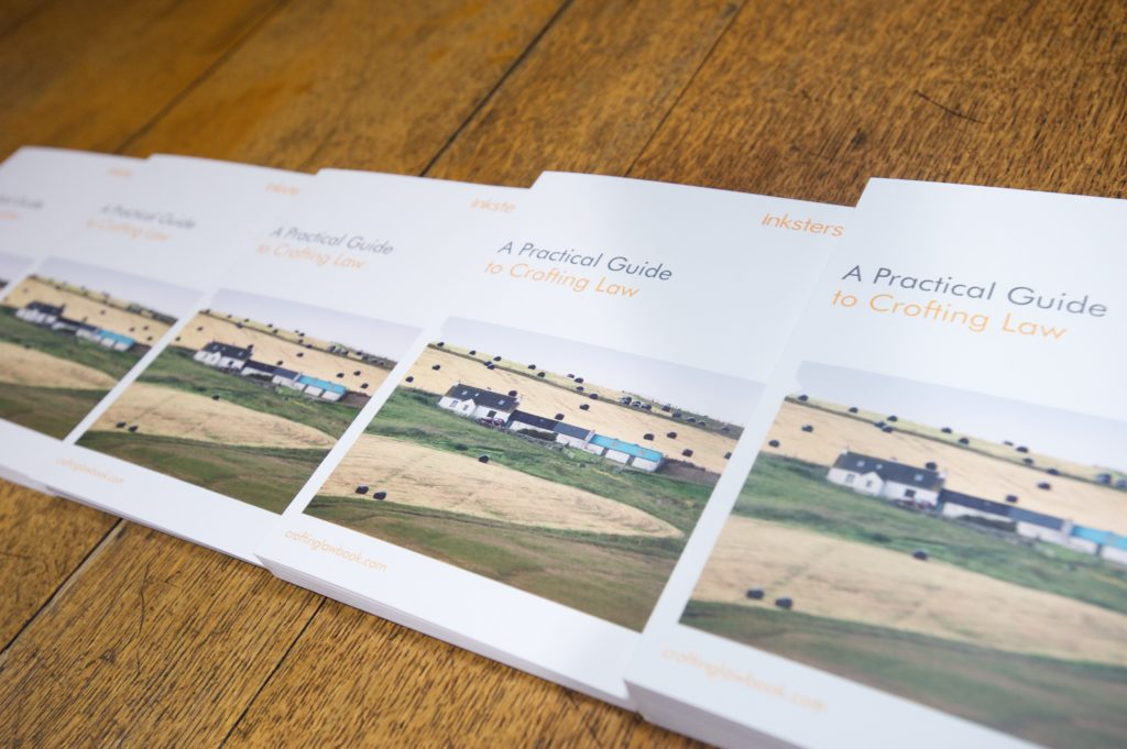 A Practical Guide to Crofting Law - Advertising Leaflets