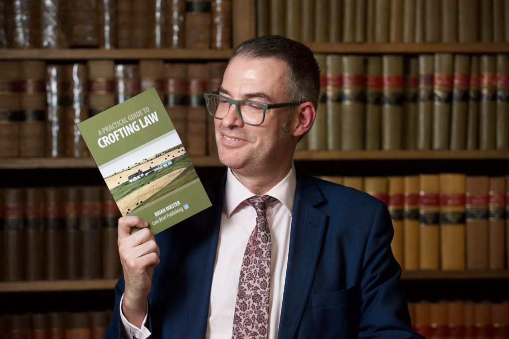 A Practical Guide to Crofting Law - Brian Inkster launches the book at the Royal Faculty of Procurators in Glasgow
