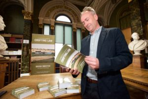 A Practical Guide to Crofting Law by Brian Inkster - The book being studied at the book launch at the Royal Faculty of Procurators in Glasgow